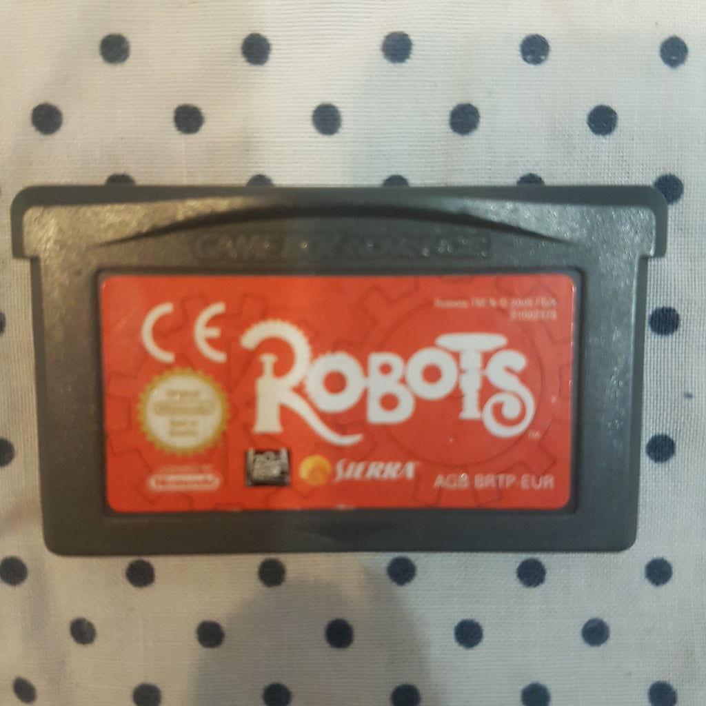 🤖 Robots || Nintendo GBA/Gameboy Advance || Pre-owned || 20th Century Fox