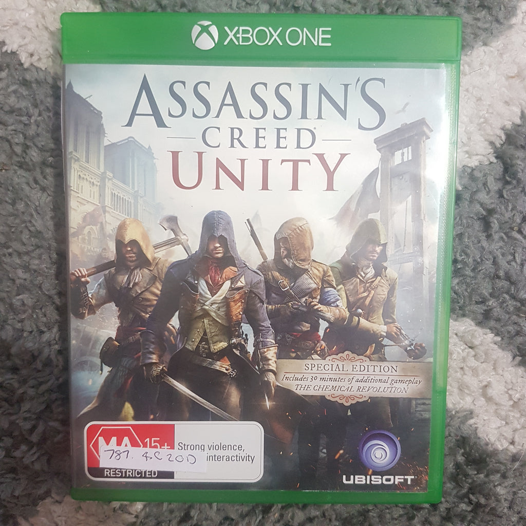 🔫 Assassin's Creed: Unity || Microsoft Xbox One || Pre-owned || FREE POSTAGE