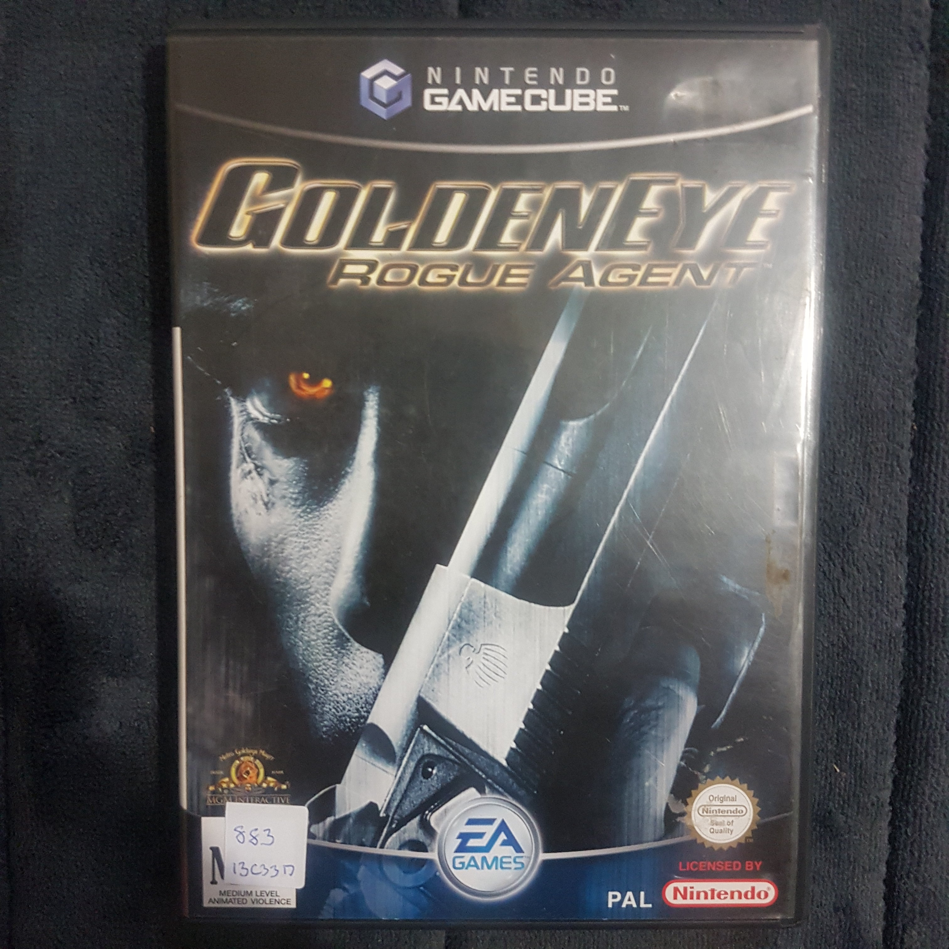 🔫 Goldeneye: Rogue Agent || Nintendo GameCube || 007 || + Manual || Free Post