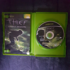 🎮 Thief: Deadly Shadows || Original Microsoft Xbox || Includes Manual || Used