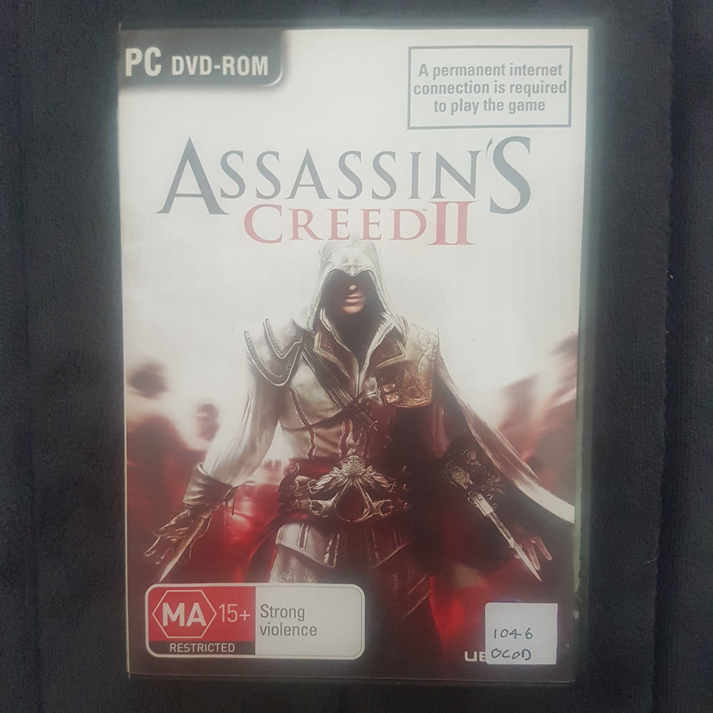 ⚔️ Assassin's Creed 2 || PC Video Game || Includes Manual || Free Post || Used