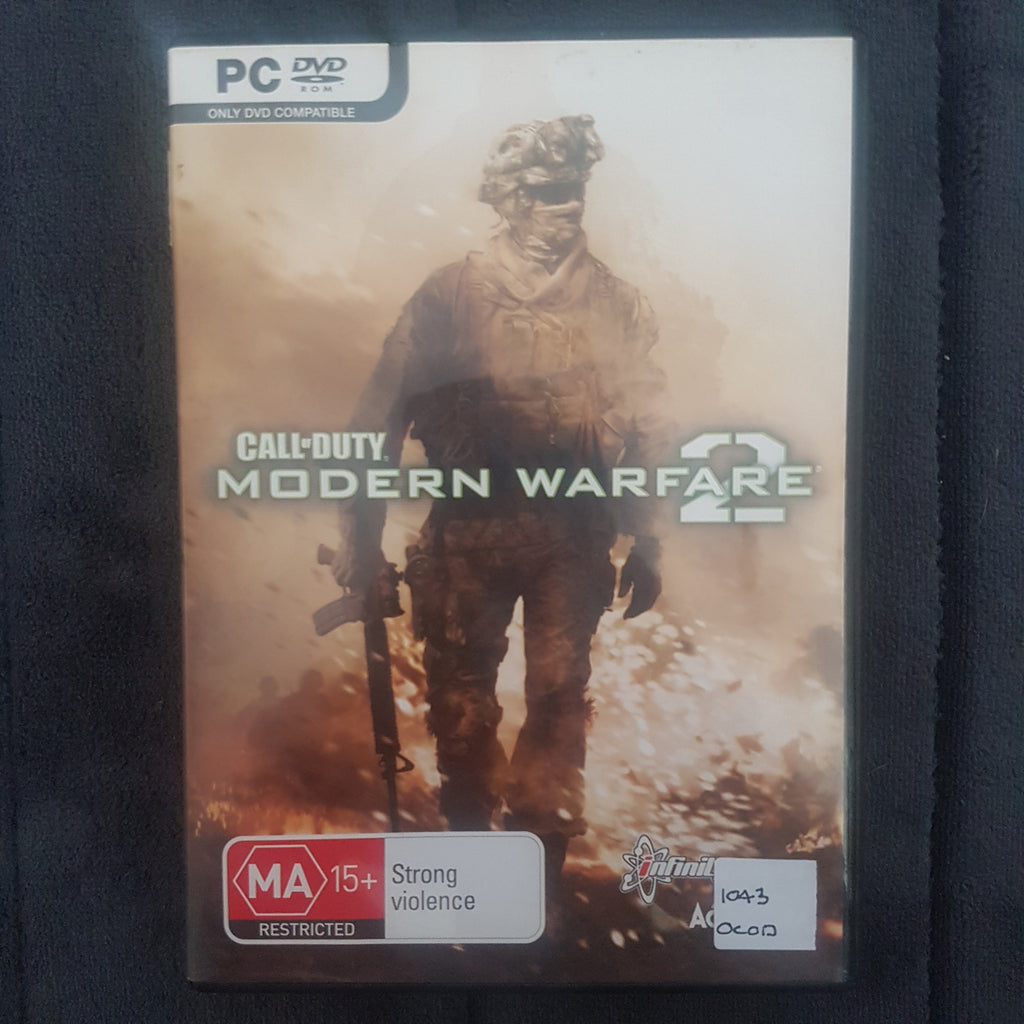 🔫 Call of Duty: Modern Warfare 2 || PC Video Game || Includes Manual || Used