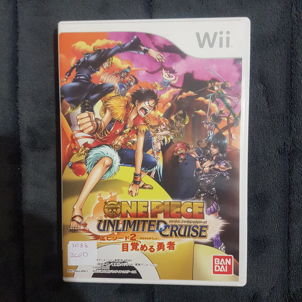 👒 One Piece: Unlimited Cruise Episode 2 || Nintendo Wii || Japanese Import Game