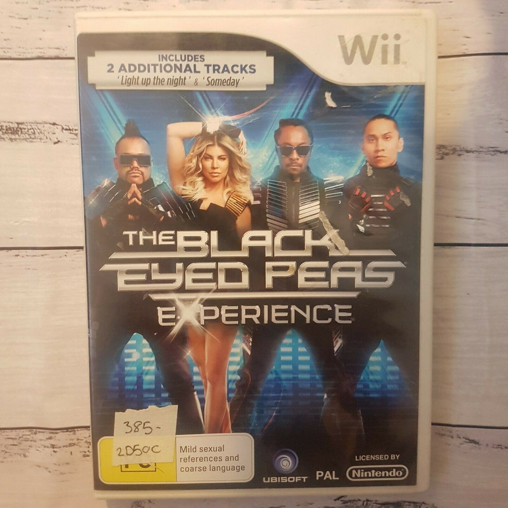 Black Eyed Peas Experience || Nintendo Wii || Includes Manual || Pre-owned
