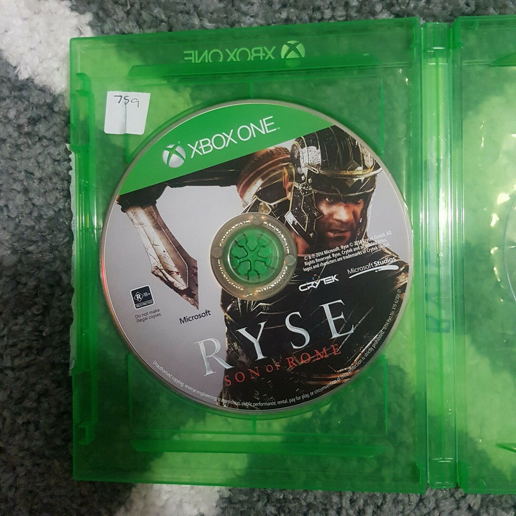 Ryse: Son of Rome || Legendary Edition || Microsoft Xbox One || Disc Only