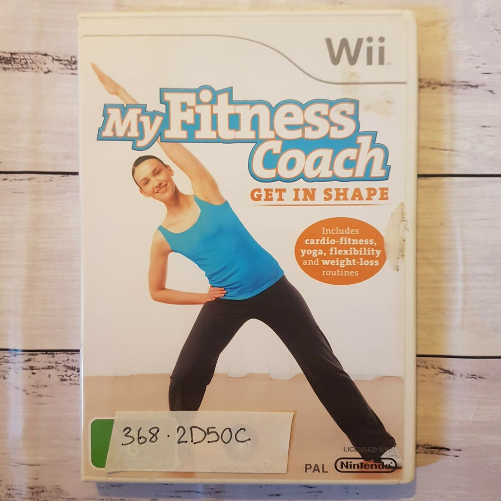 My Fitness Coach: Get In Shape || Nintendo Wii || Pre-owned || Video Game