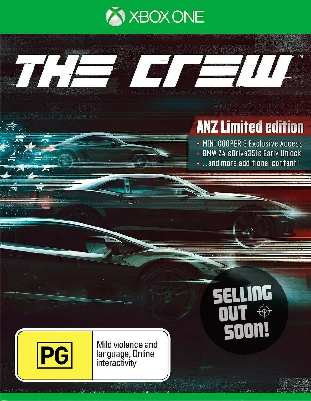 The Crew || Microsoft Xbox One || Limited Edition || Pre-owned || Video Game