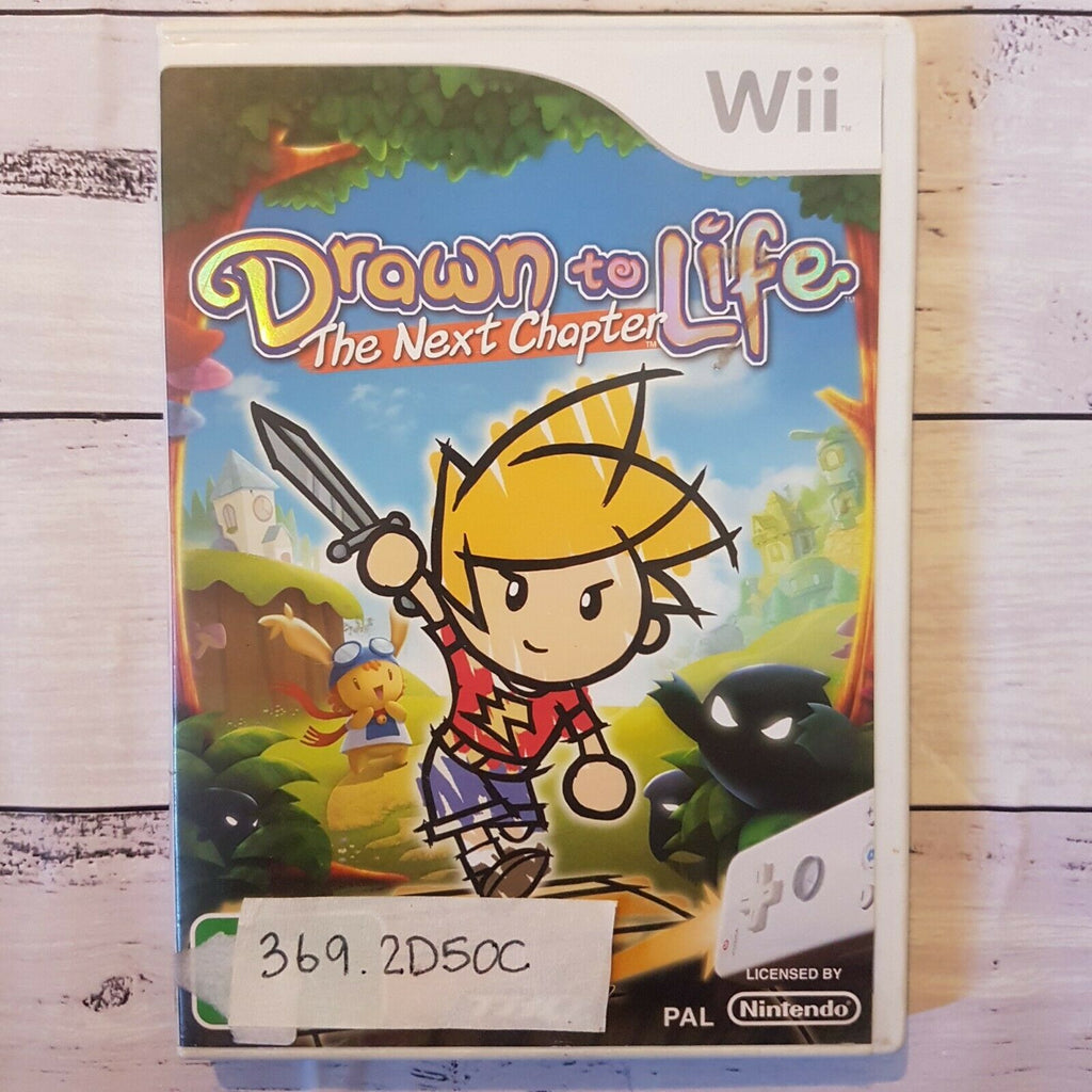 Drawn to Life: The Next Chapter || Nintendo Wii || Pre-owned || Video Game