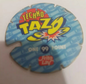 🐯 Techno Tazo || #99 || Chester Cheetah || Pre-owned || Frito Lay || One Point || Flat Item