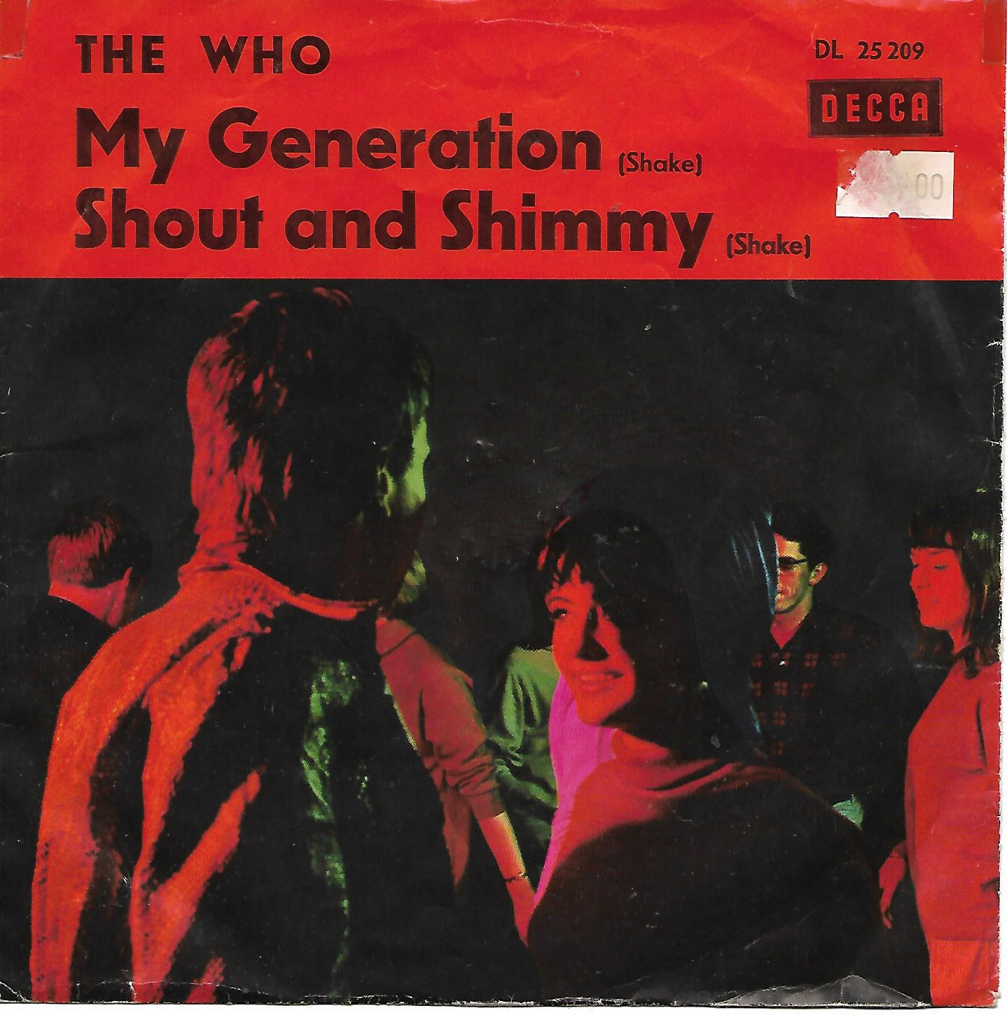 THE WHO - My Generation / Shout And Shimmy