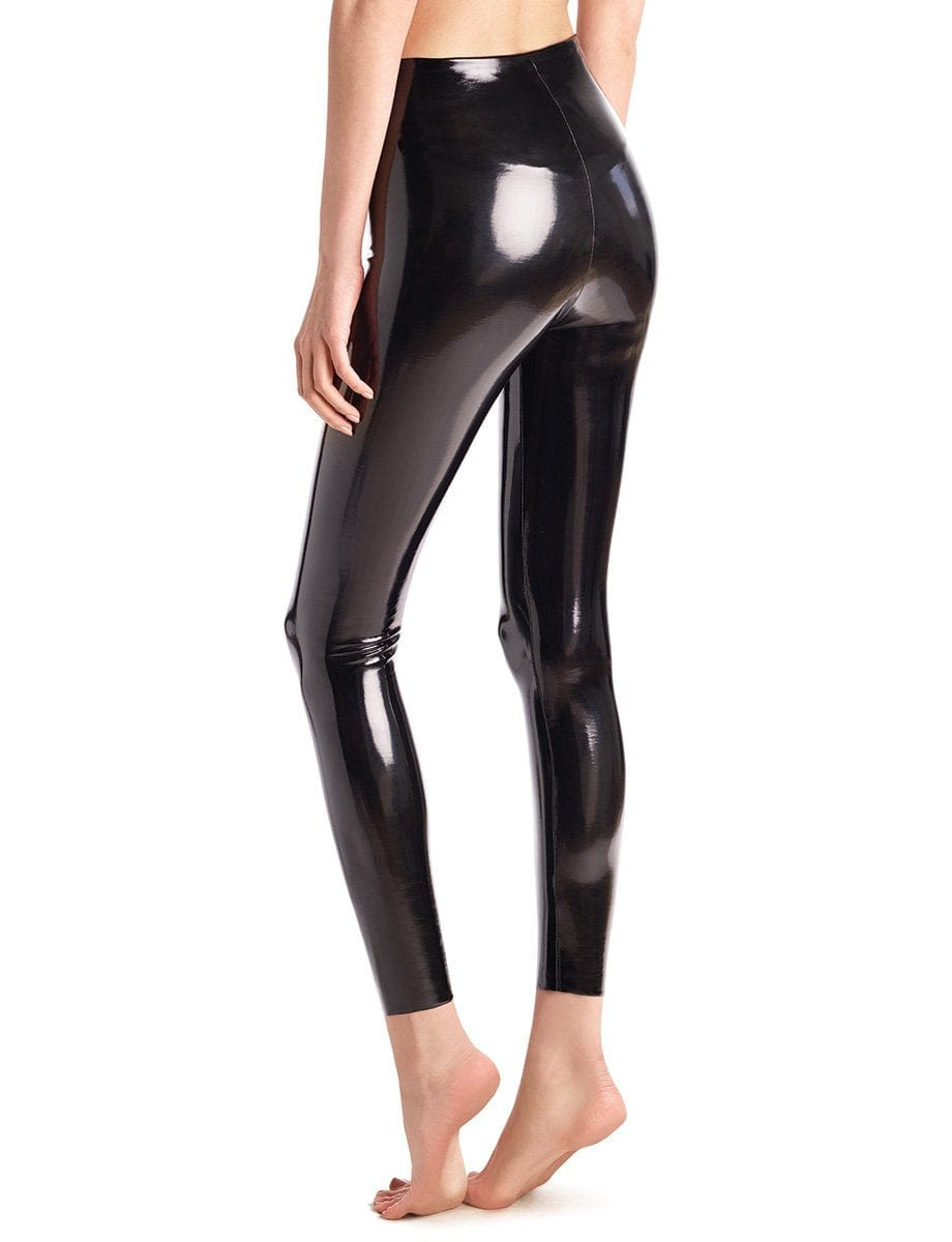 Commando Perfect Faux Patent Leather Legging - Luxe Leopard