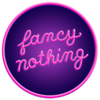 Fancy Nothing Logo – a curatorial project about weird art