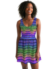 Load image into Gallery viewer, VideoBlanket Skater Dress