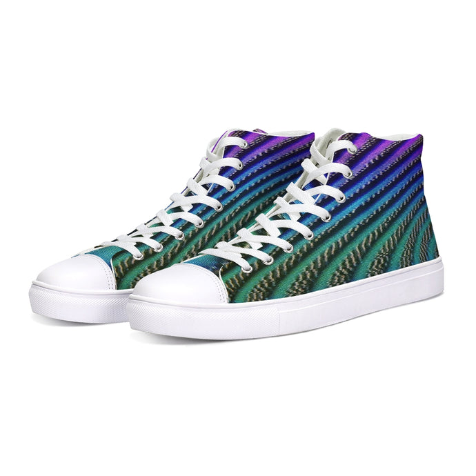 Vapor Waves High-Tops