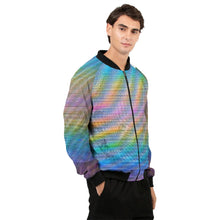 Load image into Gallery viewer, Holo-Synthesis Bomber Jacket