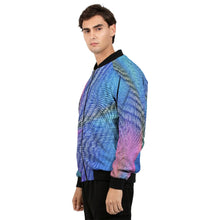 Load image into Gallery viewer, Vapor Prism Bomber Jacket