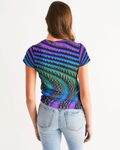 Load image into Gallery viewer, Vapor Waves Women's Tee