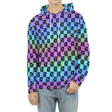 Load image into Gallery viewer, Holo-Check Hoodie