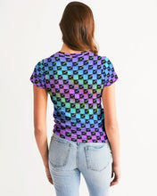 Load image into Gallery viewer, Holo-Check Tee (Women's)