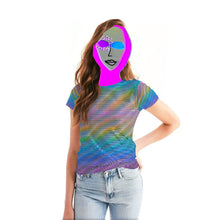 Load image into Gallery viewer, Holo-Synthesis Tee (Women's)
