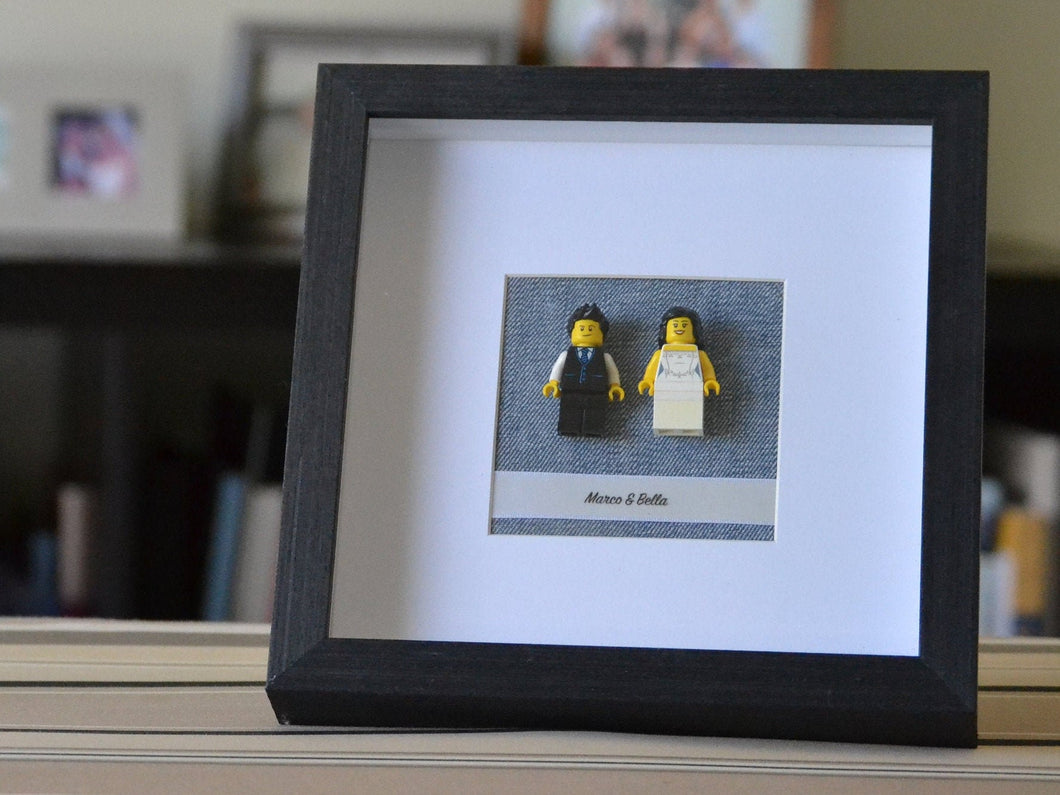 Lego® Wedding Couple Frame
