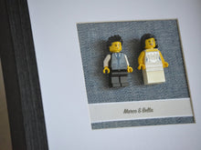 Load image into Gallery viewer, Lego® Wedding Couple Frame