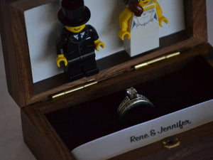 Lego® Wedding Ring Box