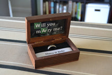 Load image into Gallery viewer, Breaking Bad Theme Wedding Ring Box