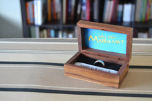 Load image into Gallery viewer, Simpsons Theme Wedding Ring Box