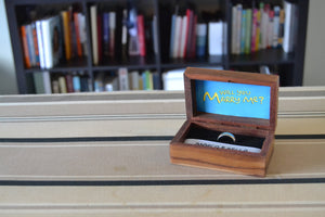 Simpsons Theme Wedding Ring Box