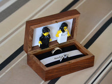 Load image into Gallery viewer, Lego® Wedding Ring Box for Two Rings