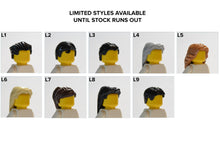 Load image into Gallery viewer, Lego® Wedding Couple Frame (Black) - With Custom Pictures