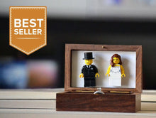 Load image into Gallery viewer, Lego® Wedding Ring Box