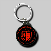 EOD Warrior Foundation Round Key Ring