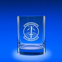 USAF 21st Communication Squad- Deluxe Rocks Glass Set