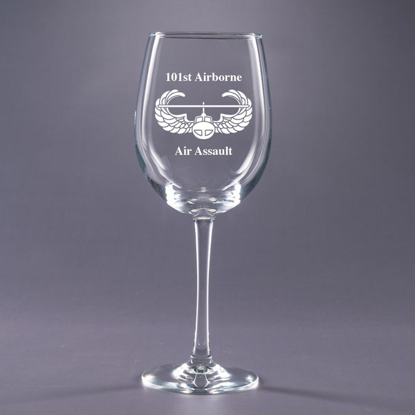 Air Assault - 16 oz. Wine Glass Set