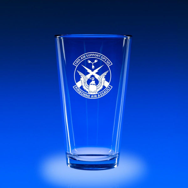 19th Air Support Operations Squadron - 16 oz. Micro-Brew Glass Set