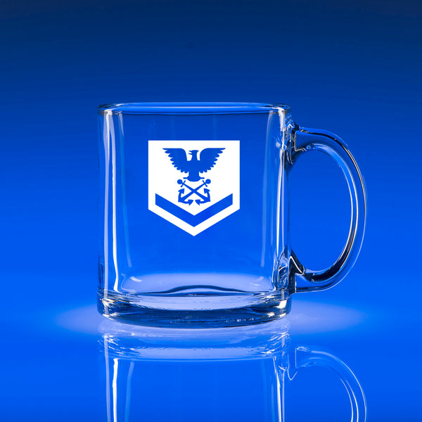 USCG Petty Officer 3rd Class (PO3) - 13oz. Coffee Mug
