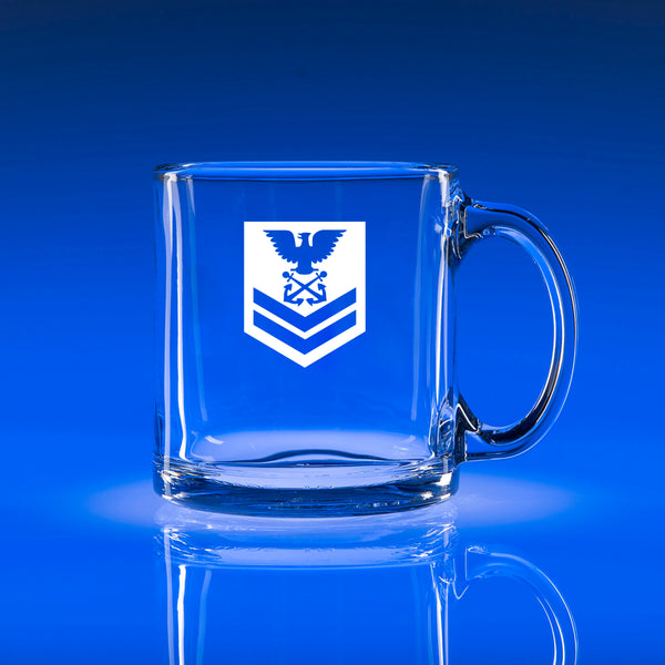 USCG Petty Officer 2nd Class (PO2) - 13oz. Coffee Mug