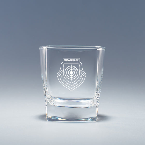USAF Weapons School Grad - Geo Rocks Glass Set