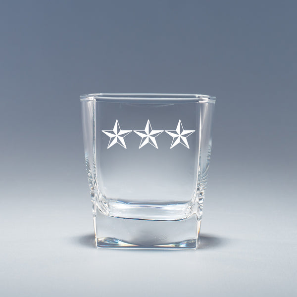 Lieutenant General - Geo Rocks Glass Set