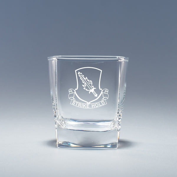 504th Infantry Regiment - Geo Rocks Glass Set