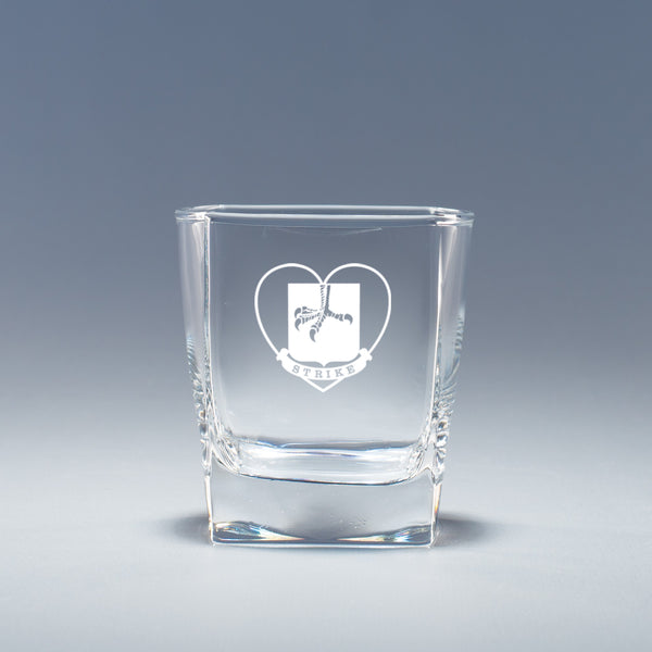 "101st Airborne, 2BCT ""Strike"" - Geo Rocks Glass Set"