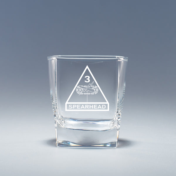 3rd Armored Division -  Geo Rocks Glass Set
