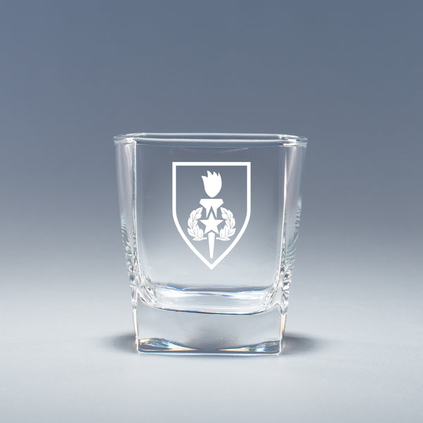 Army Sergeant Major School - Geo Rocks Glass Set