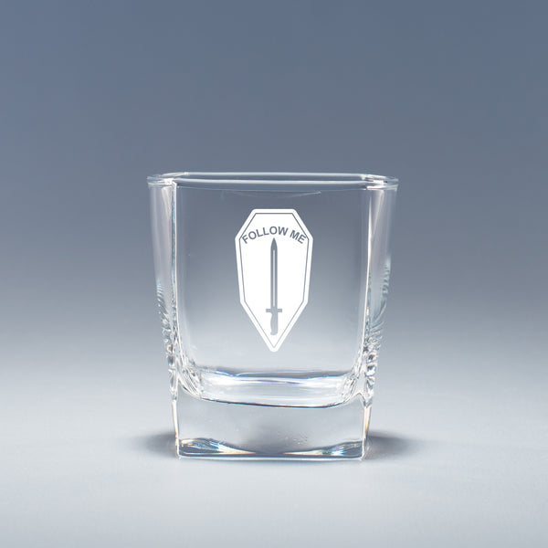 Infantry School -  Geo Rocks Glass Set