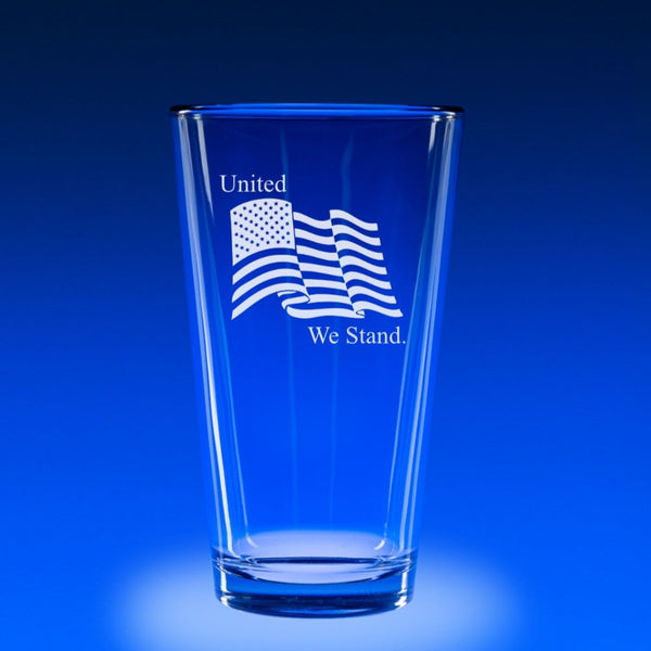 16 oz. Micro-Brew Glass Set - United We Stand