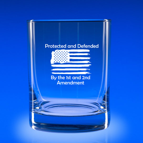 Protected & Defended - 11 oz. Rocks Glass Set