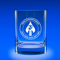 USMC Special Ops Command- Deluxe Rocks Glass Set
