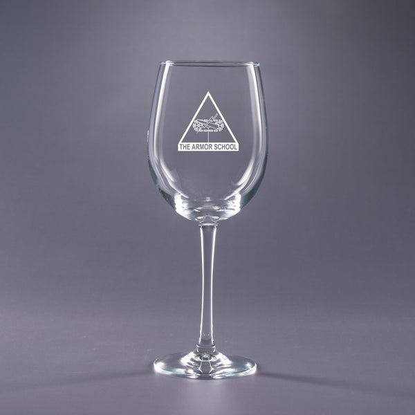 Armor School - 16 oz. Wine Glass Set